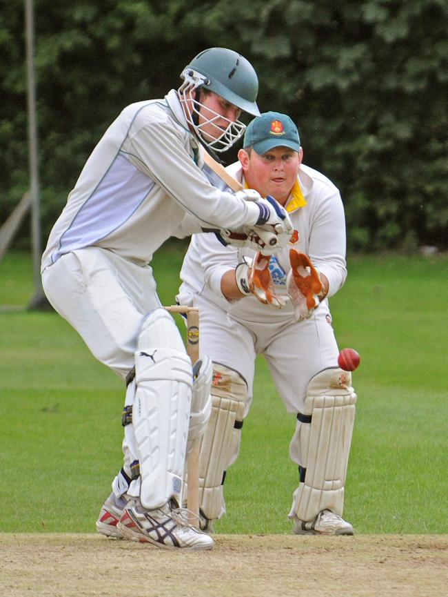Batsman Ben Gill, whose knock of 43 helped Sheriff Hutton Bridge shock Clifton Alliance in the Pilmoor Evening League