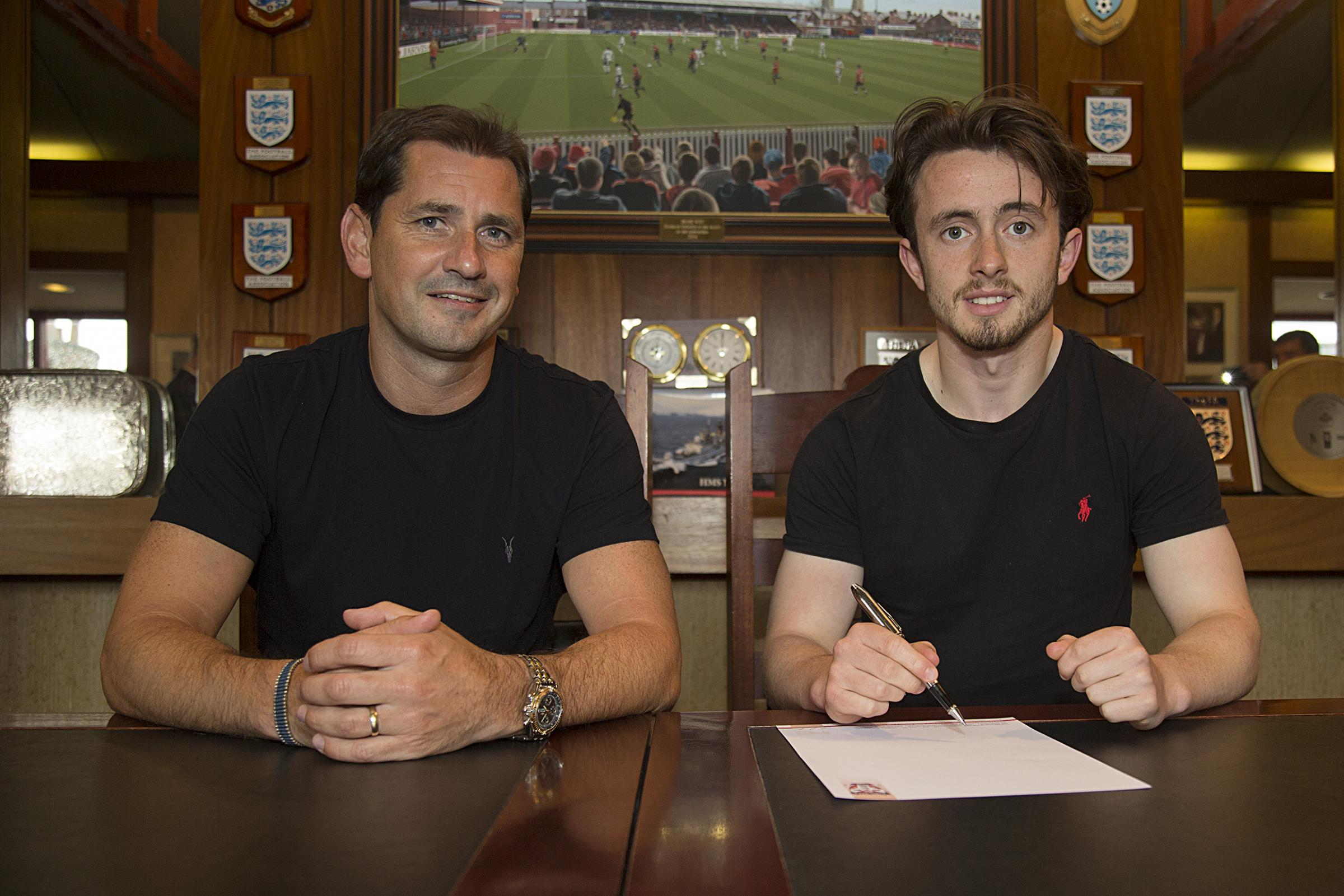 SIGNING ON: Raith winger Aidan Connolly has joined York City. Picture: Mark Comer