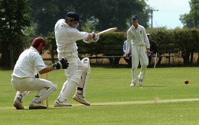 Woodhouse Grange's big-hitting centurion Steve Burdett