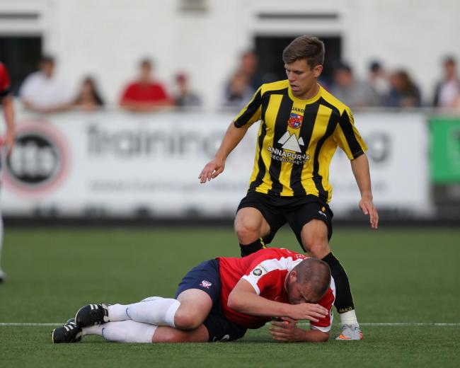 6a26ed13b ARTIFICIAL TEST  York City will play on Harrogate Town s 3G pitch for the  first time