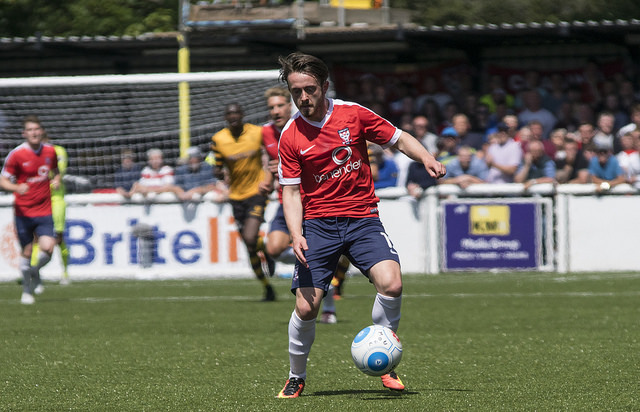 AIDING AND ABETTING: York City attacker Aidan Connolly has now claimed five assists this season