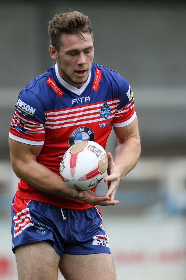 One to rely on - Brandon Westerman, on his York City Knights debut at Rochdale