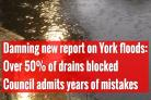 Damning report lays blame for York flash-floods at council door