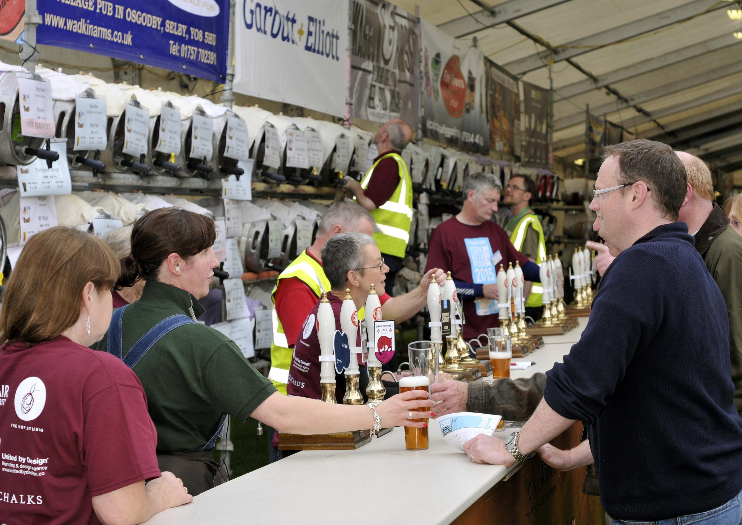 Last year's York Beer and Cider Festival. Picture: Paul Shields