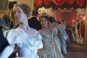 Harwood House's interiors feature in ITV's Victoria, starring Jenna Coleman
