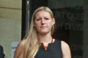 COURT: Holly Marsh of Kingsway West, York, accused of handling stolen goods after a robbery.