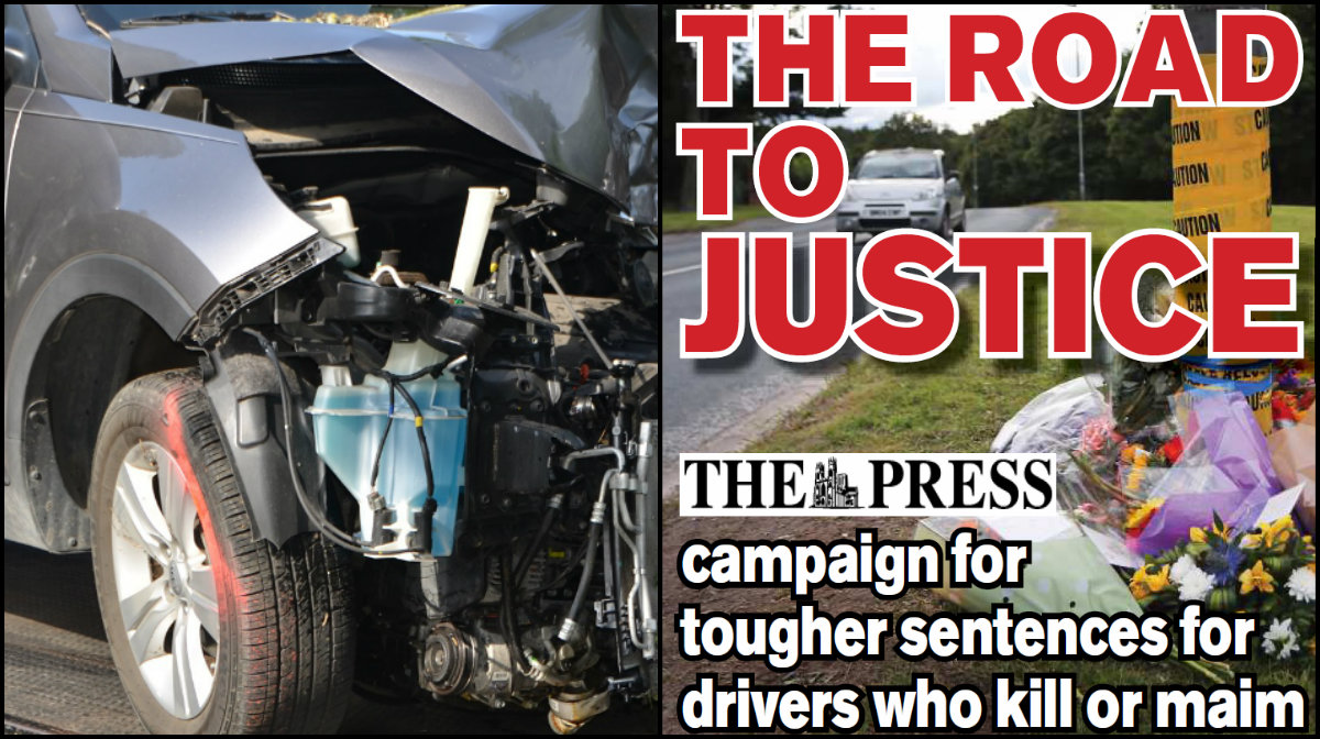 The Press launches campaign for tougher sentences for drivers who kill or maim