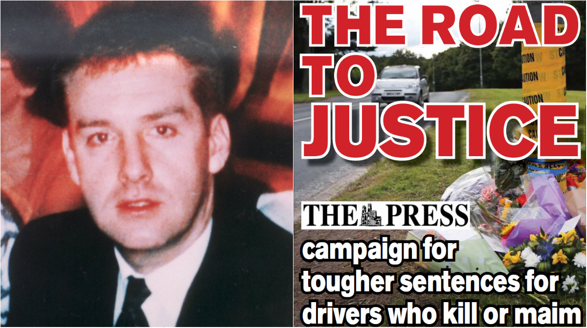 Alex Blair, who was 32 when he was killed in a crash in York in 1993