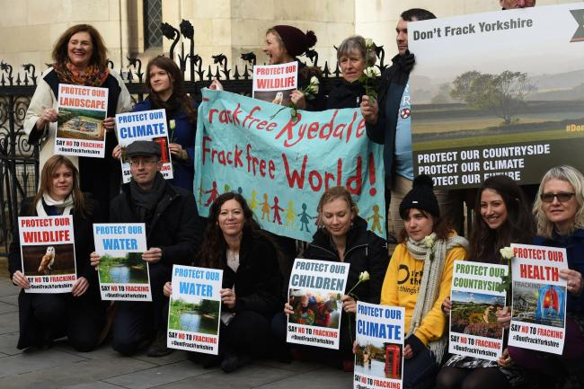 Anti-fracking campaigners must wait