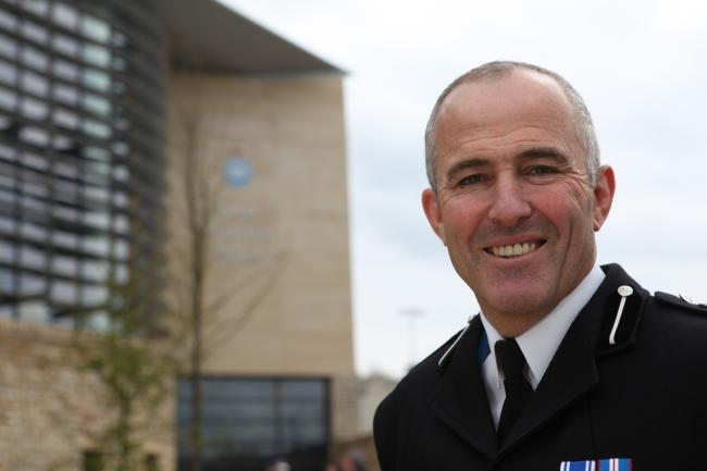 LAST DAY: Deputy Chief Constable Tim Madgwick