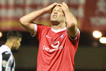 HEADACHE: Jon Parkin's absence will continue to give York City selection dilemmas in attack