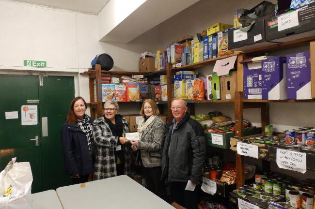 Malton And Norton Rotary Hands Over 500 To Ryedale Food