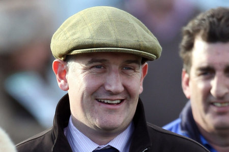DONALD McCAIN: Trainer of Rockalzaro
