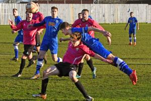 Pickering Town v Garforth Town. Pictured is Pickeringâs Niall Tilsley in action. Picture David Harrison..