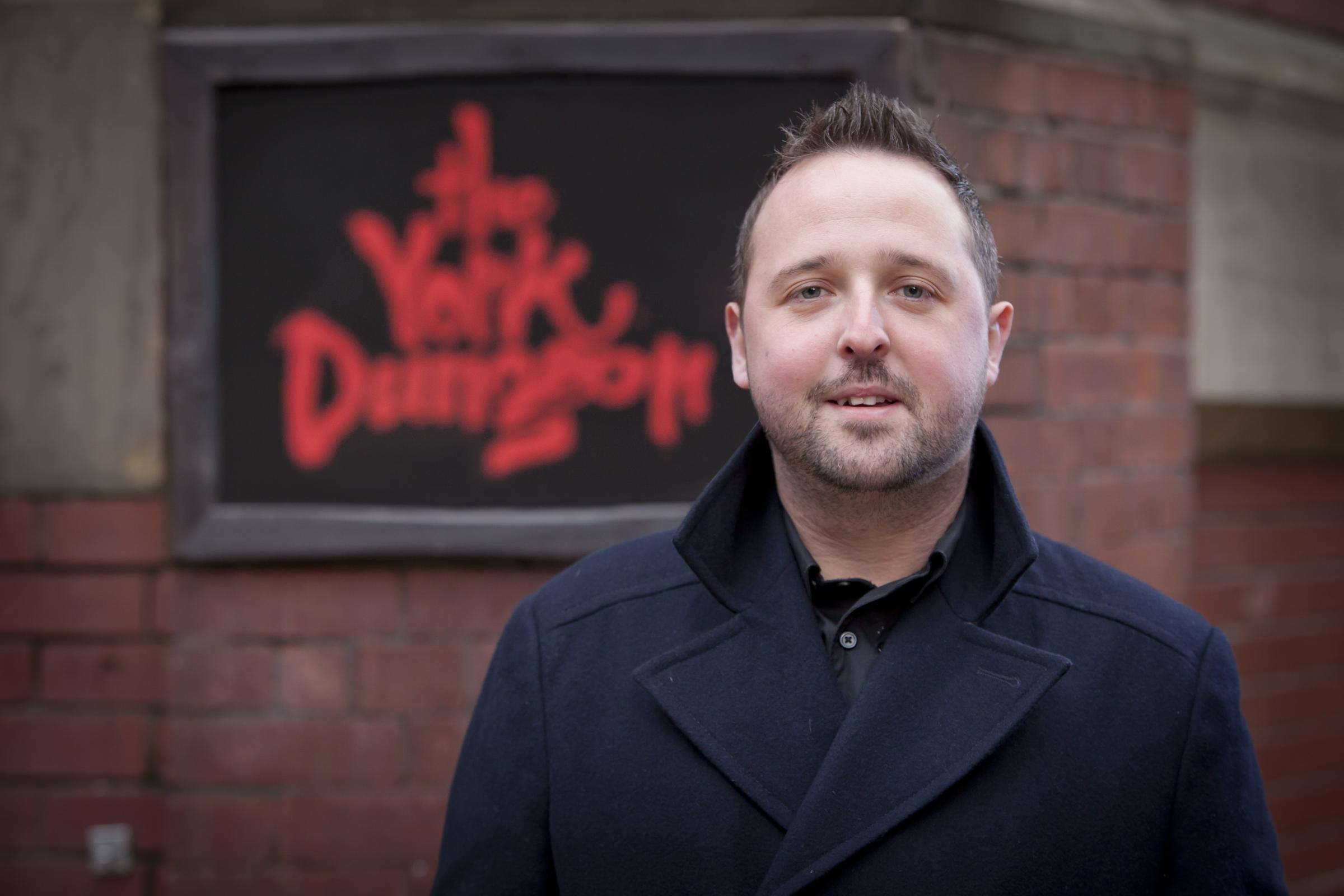 Stuart Jarman, General Manager – The York Dungeon