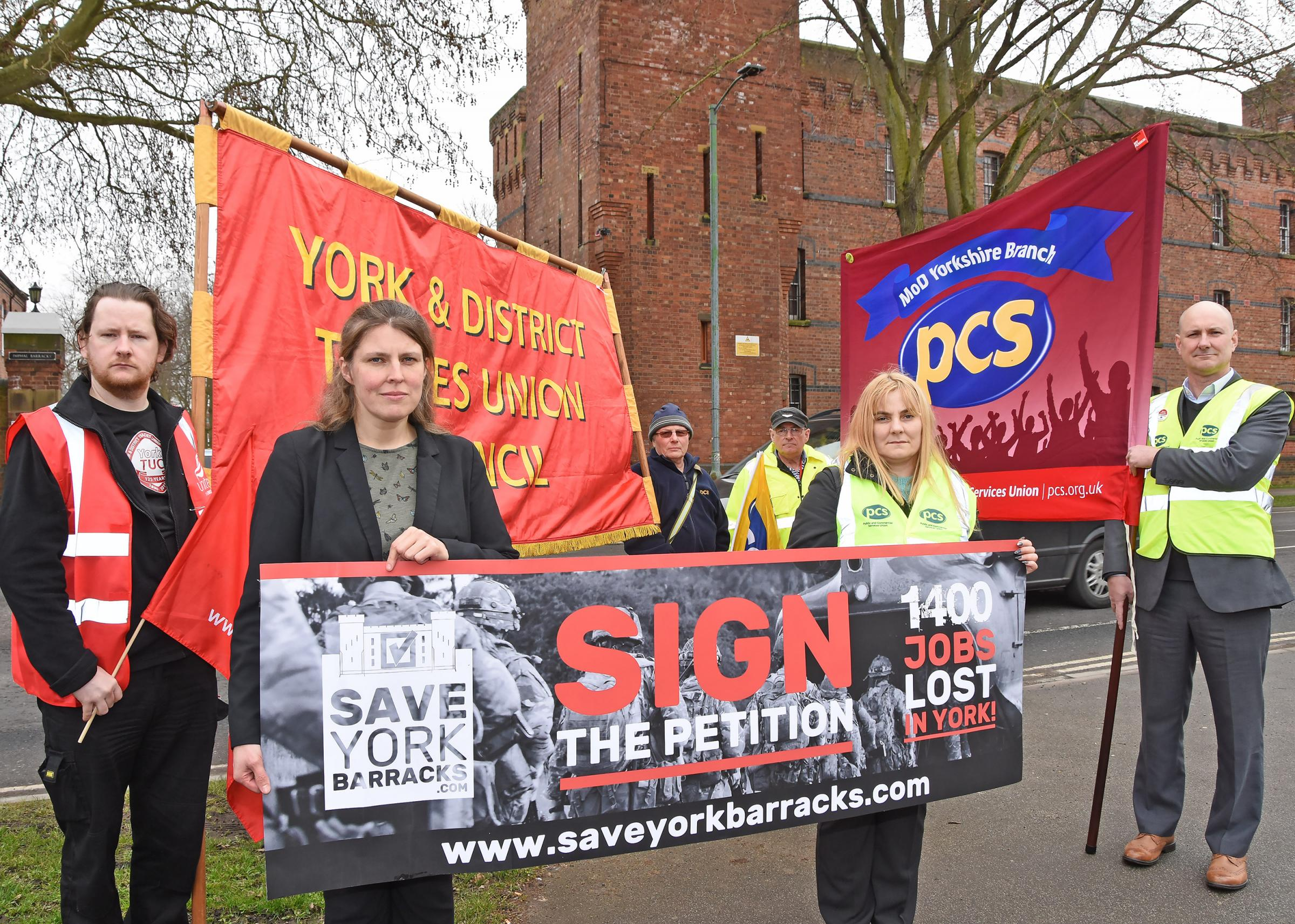 York MP launches campaign to save barracks