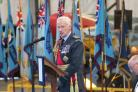 FLASHBACK: Sir Stephen Dalton addressing the audience at the 2015 Allied Air Forces Memorial Day