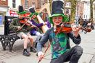 FESTIVAL: York-based Folkestra will be back in St Sampson's Square for the St Patrick's Weekend Festival. At last year's event are Billy Ainsworth, Hollis Lansford and Ivy Askew