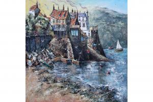 The Incoming Tide, Robin Hood's Bay, by Kezy Feaster