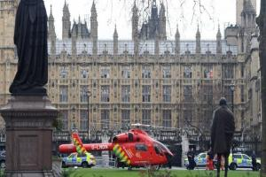 Shots heard outside Houses of Parliament - York MP inside building