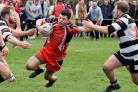 Action from New Earswick All Blacks' derby Forty-20 Cup win over Heworth last week. Picture: Nigel Holland