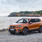 York Press: The 4.36-metre Seat Ateca shares the distinctive front styling of its hatchback cousin