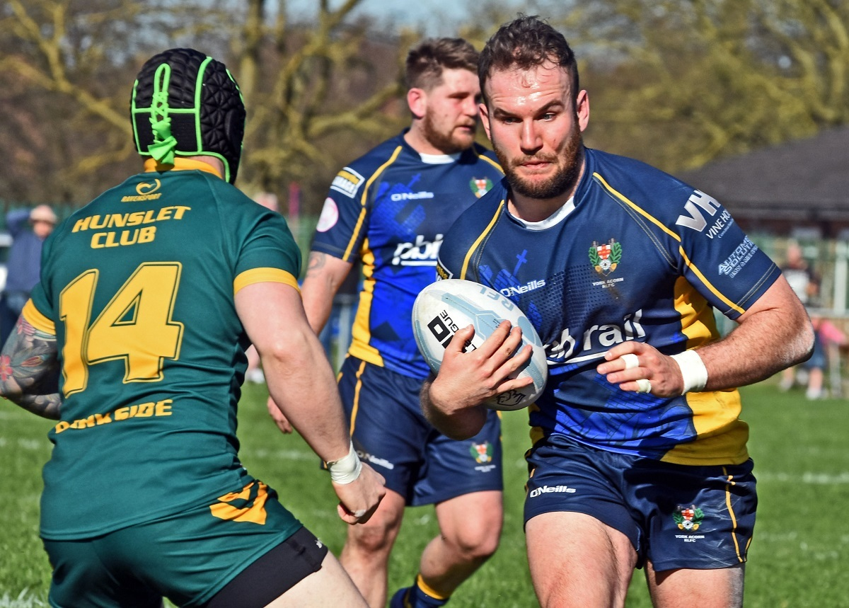 BIG MISS: Elliot Bulmer, who sits out York Acorn's opening match of the National Conference League division one campaign against title favourite Featherstone Lions