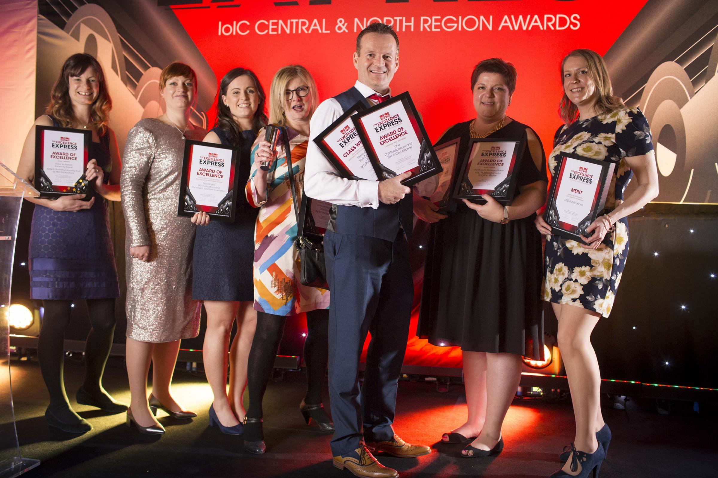The Red team are hoping to build on the success of last year's IoIC event when they picked up eight awards