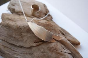 Silver jewellery by Jo Bagshaw, of York