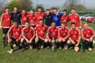 TREBLE CHANCE: York Nomads are chasing a hat-trick of cup triumphs after lifting the York FA Sunday Morning Senior Cup following a 10-0 win over NUR