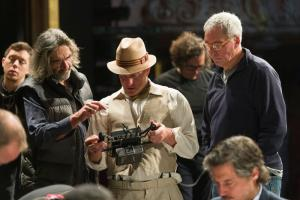 Woody Harrelson directing his debut feature film, Lost In London