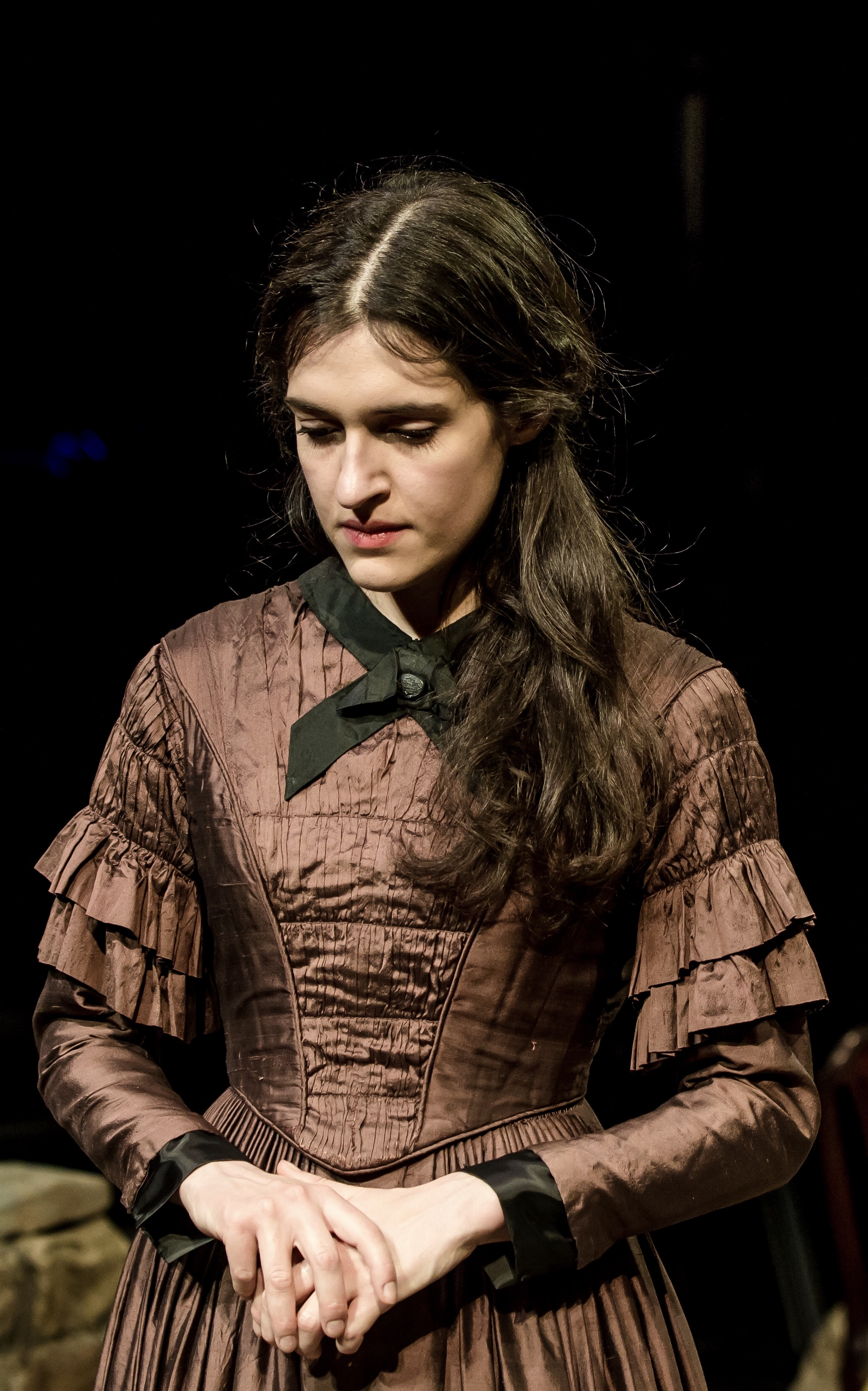 Phoebe Pryce as Helen Graham in The Tenant Of Wildfell Hall. Picture: The Other Richard