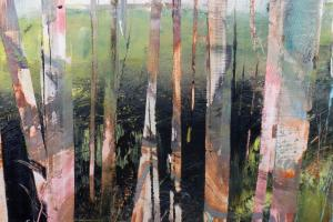 Birches, by PICA Studio artist Lesley Birch, on show at York Open Studios