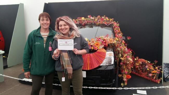 Students triumph at harrogate flower show york press students triumph at harrogate flower show mightylinksfo