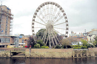 Yorkshire Wheel may be moved to new location