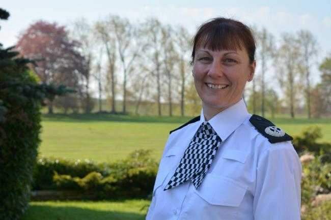 Deputy Chief Constable Lisa Winward.