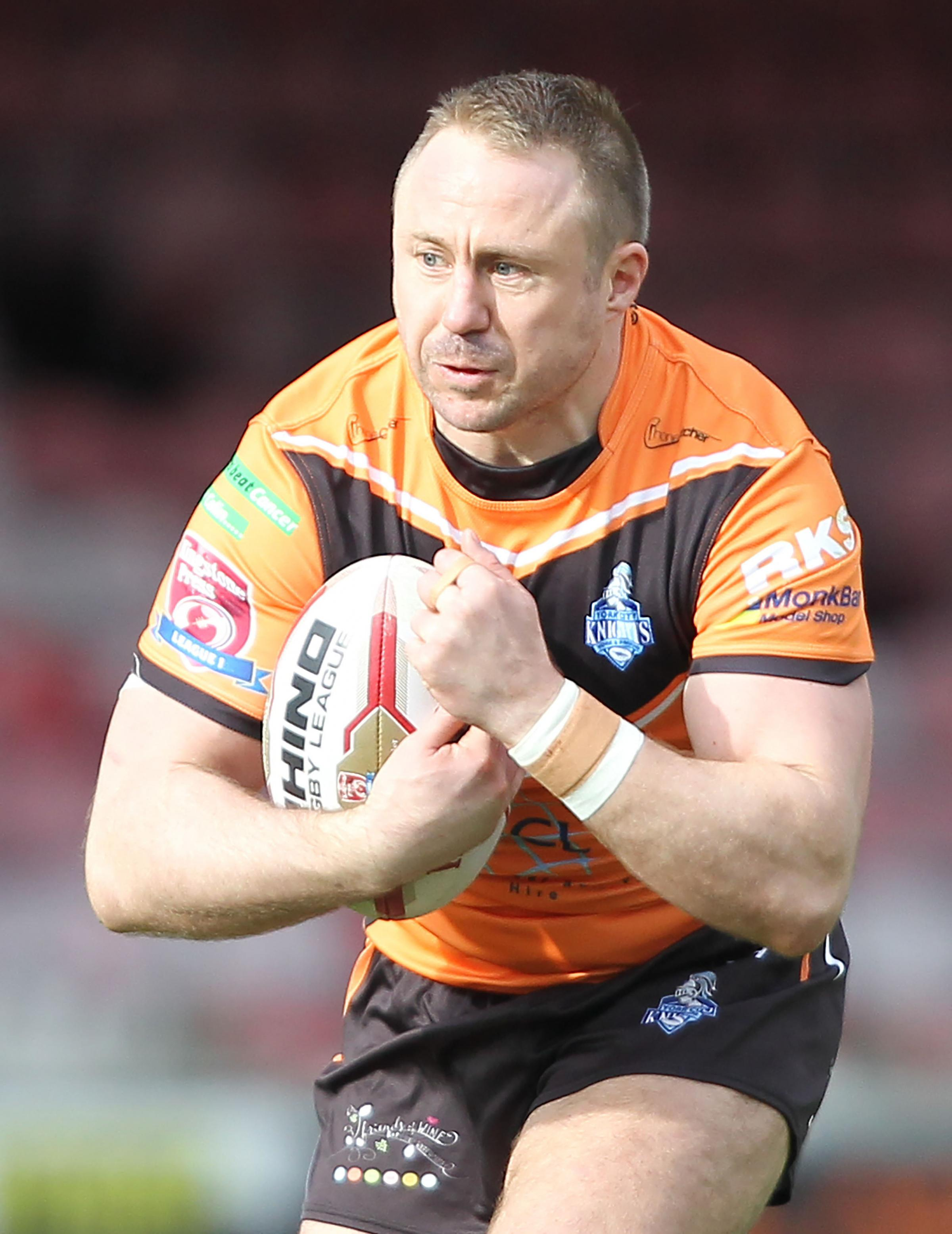 York City Knights' Tim Spears