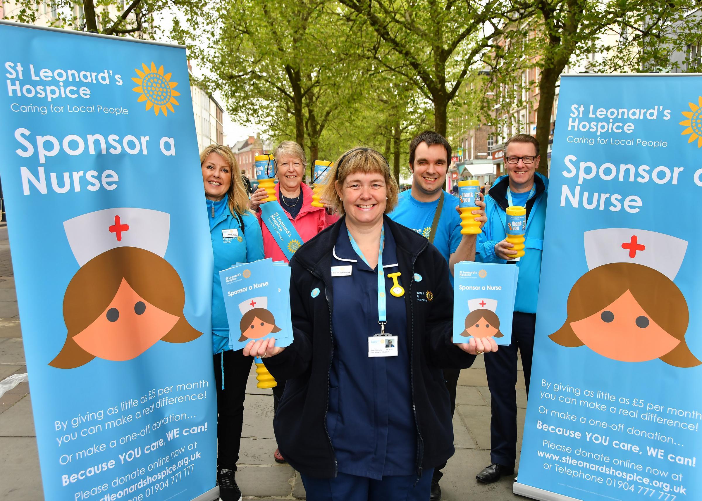 Sponsor A Nurse Appeal For St Leonards York Press