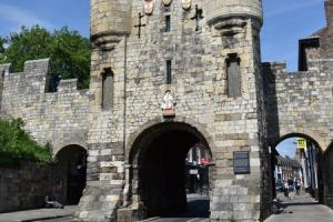 Micklegate Bar  where there will be road closures starting in June   Picture Frank Dwyer.