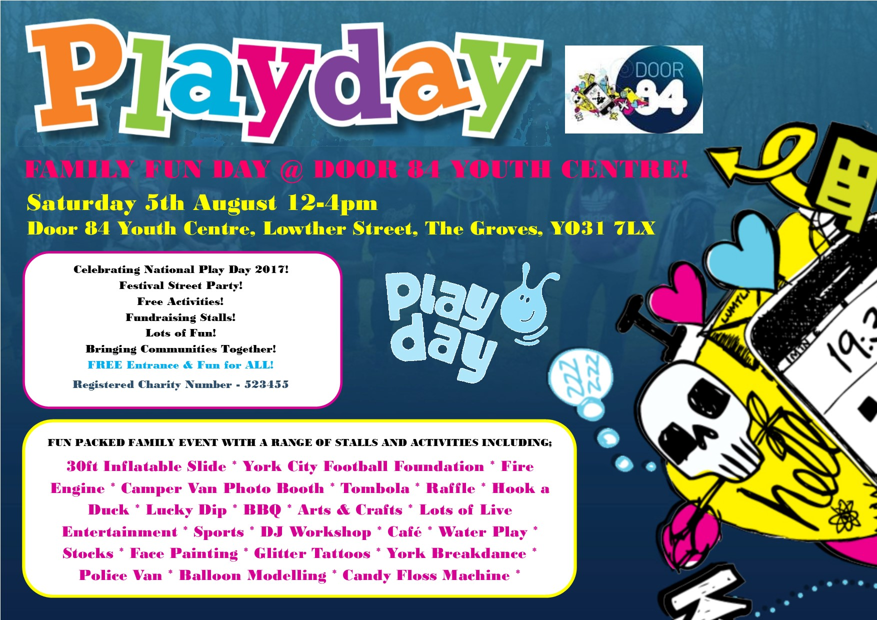 Door 84's Family Fun Day - Playday!