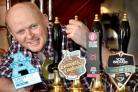 Alan Hardie of Head and Master Brewer at Ainsty Ales  who took part in the Fox Pub's Beer Festval  Picture Frank Dwyer.
