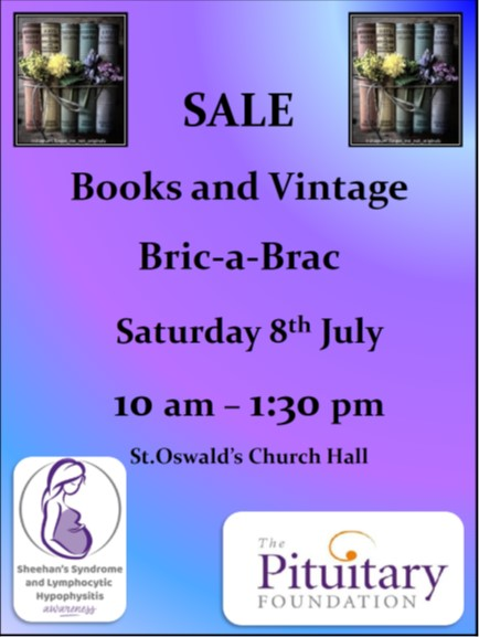 Books and Vintage Bric-a-Brac Sale Event