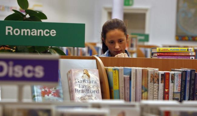 Ryedale's library home deliveries for people who can't get out