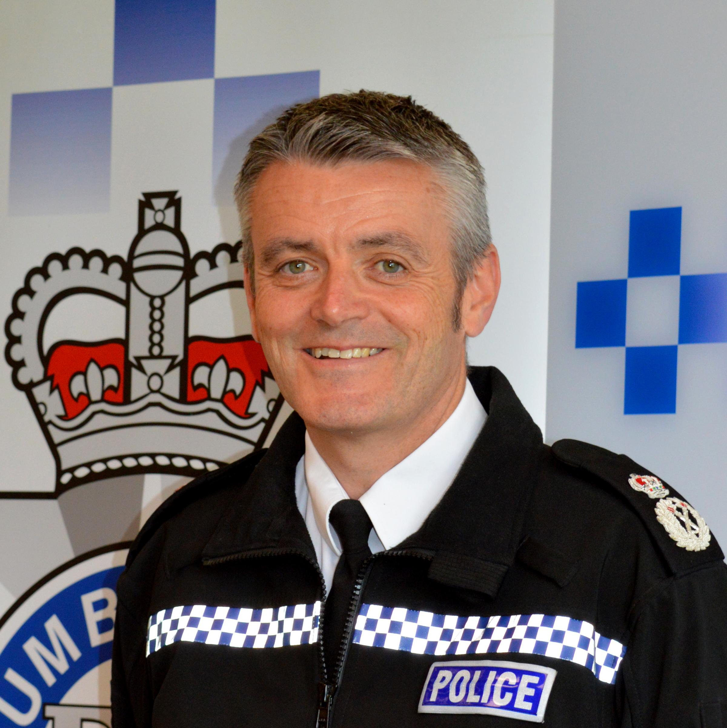The new Humberside Police chief constable Lee Freeman