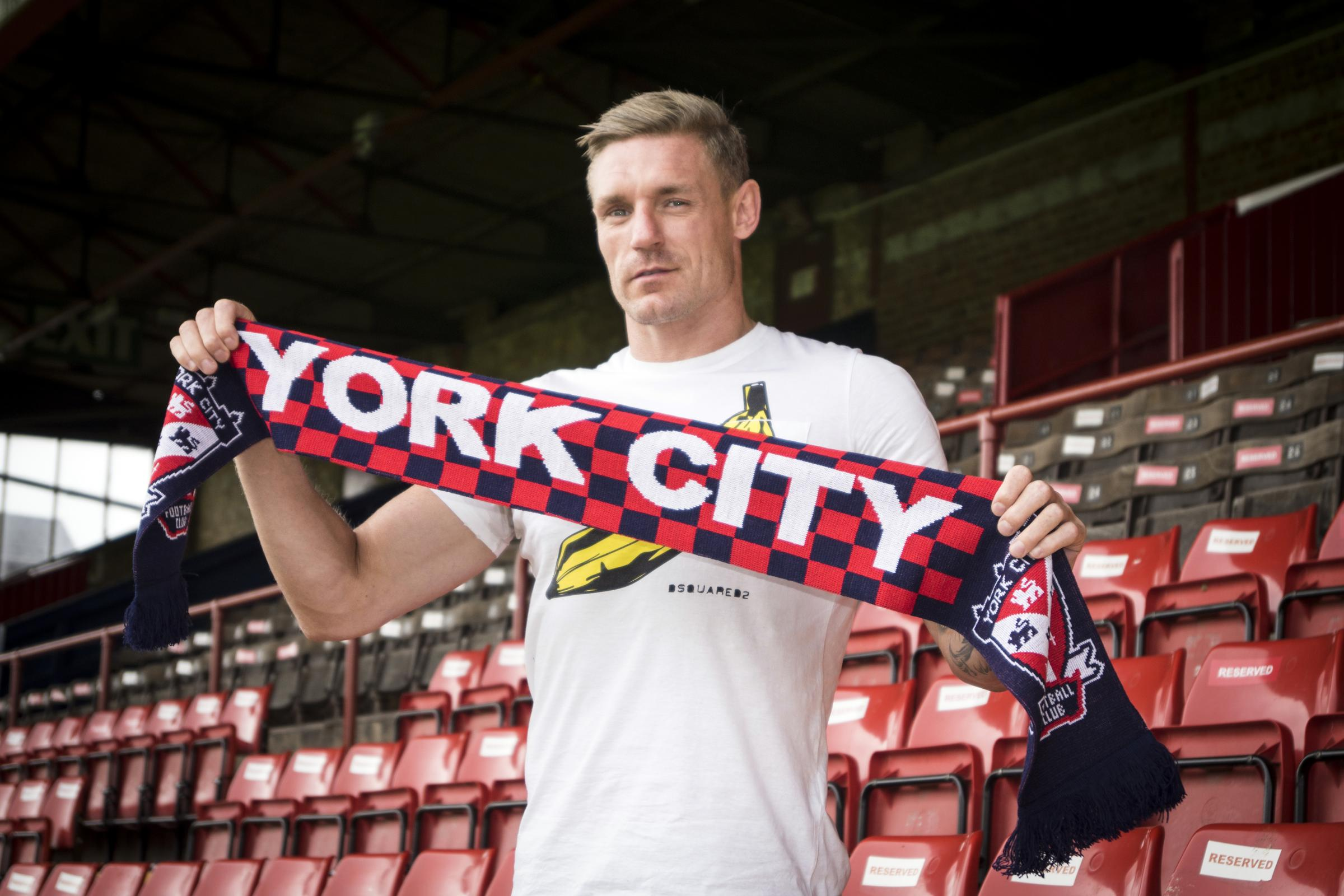 IN FOR KEEPS: Jon Worsnop has signed for York City, while fellow keepers Kyle Letheren and Luke Simpson will be moving on. Picture: Ian Parker