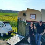 York Press: Nicole Fielding and James Blakeley, founders of Blakefields with their new mobile cocktail bar