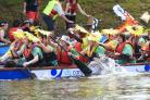Dragon Boat racing on the River Ouse. Photo: Chris Shepherd