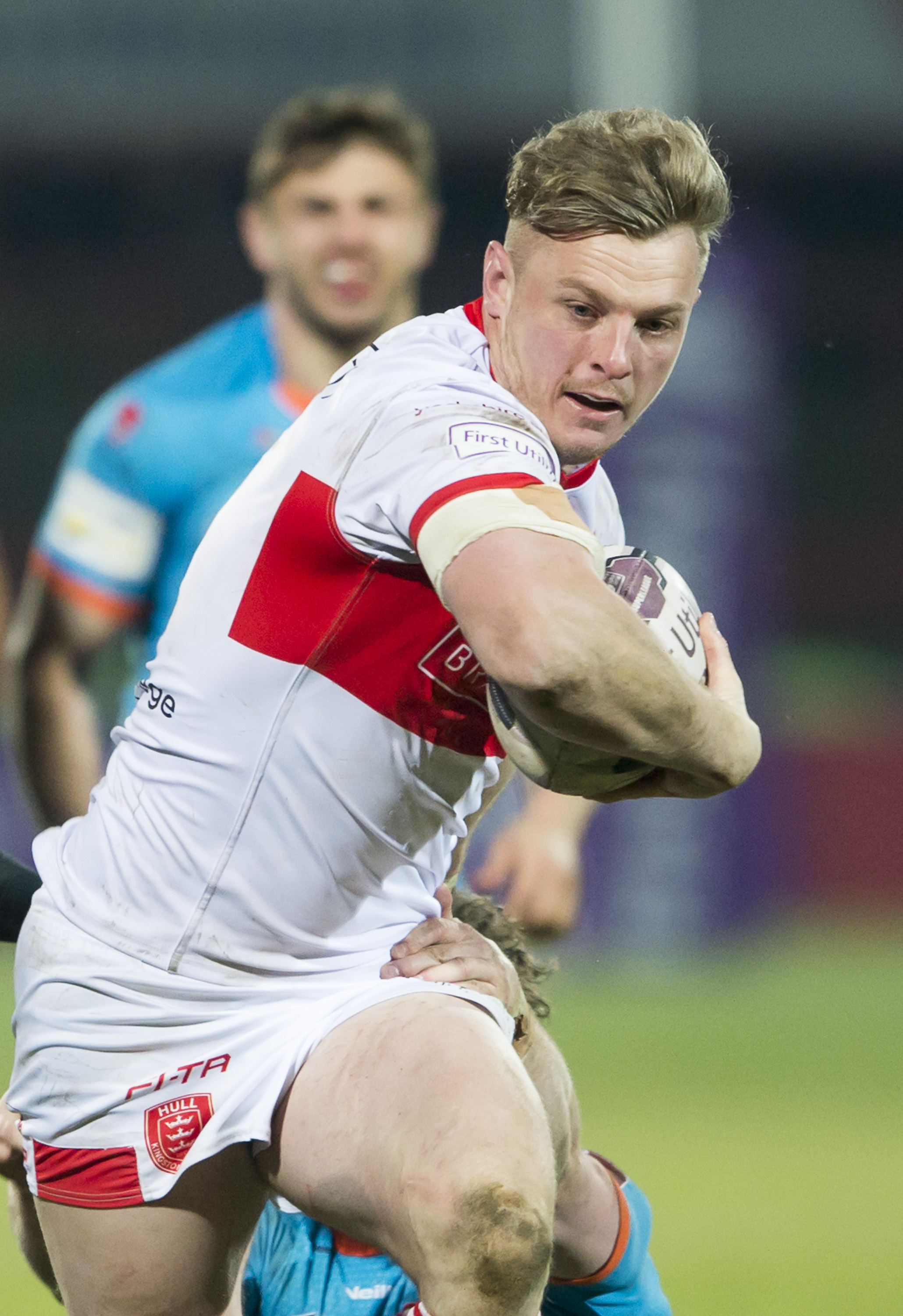 Graeme Horne in action for Hull KR Picture: SWPix