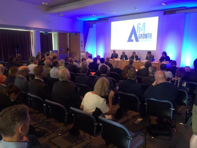 The meeting to launch the A64 Growth Partnership at FERA