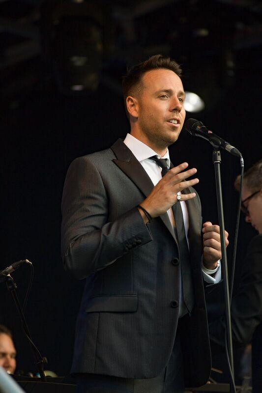 Australian tenor Daniel Koek performing at the York Proms. Picture: Laura Toomer